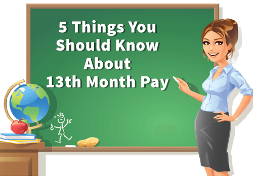 5 Things You Should Know About 13th Month Pay